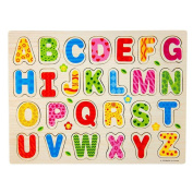 26pcs Cute Wood Alphabet English Letters Puzzle Jigsaw Decor