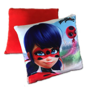 Decorative PILLOW LADYBUG MIRACULOUS Zag Heroez 30x30cm (12x12 inches) Original and Official
