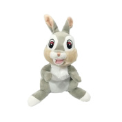 THUMPER Plush from Bambi 20cm (8 inches) DISNEY Serie ANIMAL FRIENDS - Official with HOLOGRAM