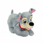 TRAMP Plush from Lady And The Tramp 20cm (8 inches) DISNEY Serie ANIMAL FRIENDS - Official with HOLOGRAM