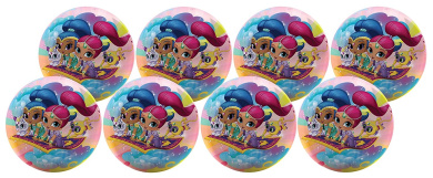 Hedstrom #10 Shimmer & Shine - Party Pack Of 8 Balls Playball