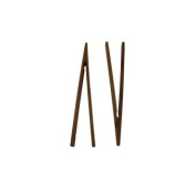 Kitchen Collection Set of 2 Bamboo Toaster Tongs 06371