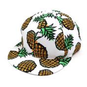 Baseball Cap,Neartime Cute Pineapple Snapback Hat Adjustable Hip-hop Hat .