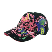 Baseball Cap,Neartime Embroidered Boys Girls Butterfly Caps 2017 NEW!!