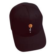 Baseball Cap,Neartime Boys Girls Snapback Embroidery Hip Hop Hat 2017 . Black)