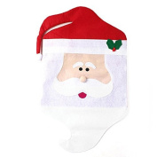 Yeah67886 Lovely Mr Santa Claus Dining Room Christmas Chair Cover Christmas Decoration