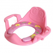 Arm and Hammer Secure Comfort Potty Seat, Baby Potty Ring With Cushion, Pink