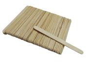 50 Pcs Plain Ice Cream Sticks Craft Perfect Sticks Popsicle Wooden Sticks Useful For Crafting Purpose