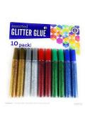 Assorted Glitter Glue Sticks, 10 pack