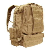 GLORYFIRE Tactical Backpack 3 Day Assault Pack for Outdoor Hiking Camping Trekking Hunting Black
