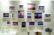NAUY- Photo Wall European Frame Wall Creative Korean Living Room Photo Wall Simple Modern Frame Wall Combination