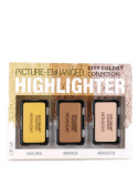 City Colour Collection Highlighter Picture-Enhanced 3pc Set Bronze