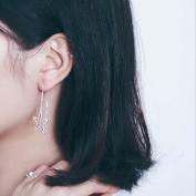 A & C Fashion Korean Version Alloy Geometric Shapes Earrings for Women. Unique Handmade Earrings Jewellery for Girl.