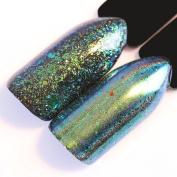 NICOLE DIARY 0.2g Chameleon Holo Sequins Powder Laser Green Blue Nail Flakies Paillette Flakes Manicure Nail Art Decoration