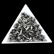 Alonea Hot Sell 100pcs / Lot 46mm Arrow Rivet Decoration Nail Art Punk Spikes Stud
