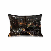 A View From Tokyo Metropolitan Government... Pillow Covers Protector Two Sides Standard Zippered Pillowcase Pillow Sham 20x30inche for kids New Year Gift