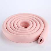 HOUTBY™ 3 x 2 Metre U-Shaped Foam Baby Safety Proofing Edge Corner Guard Protector Soft Child Edge Cushion Table Safety Bumpers Sets for Kids Toddlers