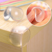 HOUTBY™ Transparent Baby Safety Proofing Edge Corner Guards Protectors Soft Table cupboard Corner Guards for Toddlers Children