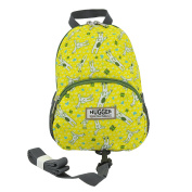 Hugger White Wabbits Children's Backpack with Harness - 1-4 years
