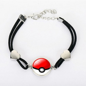Pokemon Go Plus Keystone Bracelet Watch Mega Stone Anime Pendant Fashion Jewellery Cosplay Cute Charm