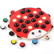 Beetles Memory Chess Wooden Desktop Colour Parenting Memory Game Toys