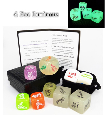 Funny Sex Love Dice Housework Distribution Dice and Beer Game Dice Create Funny Home Party Games
