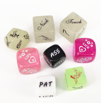 Funny Dice Love Sex Dice Game Dice for Bachelor Party Adult Lovers Couple Gift