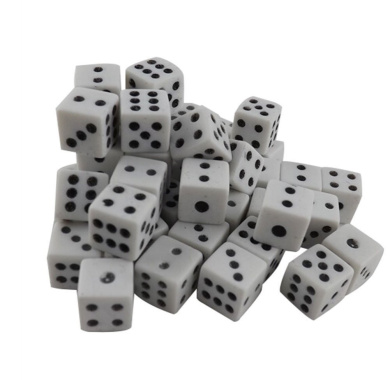Aoile 100 8cm White Dice Game Dice by Aoile