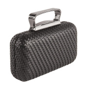 Bag clutch, Attilia Black, leatherette