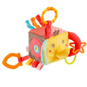 Fehn Safari Soft activity cube elephant