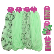 COM-FOUR ® 42 Piece Children's Hair Accessories Set in Green