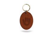 MLB Leather Keychain