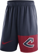 Cleveland Indians Nike Cooperstown Collection Dry Fly Shorts - Navy