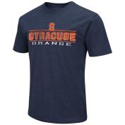 Syracuse Orange Adult Soft Vintage Tailgate T-Shirt - Navy ,
