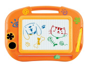Magnetic Drawing Board Toy Magna Doodle For Kids - Erasable Colourful Drawing Board Writing Sketching Pad For Kids Inspiration And Colours - Gift for Girls Boy Kids Children Travel Size