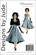 Reminisce Doll Clothes Sewing Pattern for 60cm American Model Dolls Tonner