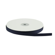 VATIN Solid 1cm Grosgrain Ribbon, 50-Yard, Navy Blue