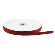 VATIN Solid 1cm Grosgrain Ribbon, 50-Yard, Red