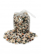 Multicolor Stone Mixed Mini Polished Stones Decor Vase Fillers - 1KG/2.2Lbs
