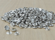 100 pk Line 24 Snap Steel Fasteners Nickel Plated 0.6cm post Leathercraft