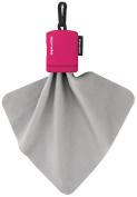 Alpine Innovations Spudz Classic Microfiber Cloth and Screen Cleaner, Pink, Large