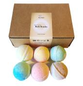 BeautyResolve Bath Bombs Gift Set, All Natural, 120ml