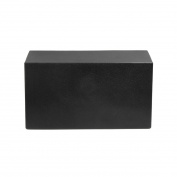 uxcell Black Soft Large Foam Luxury Spa Bath Pillow Head Neck Back Support Cushion 37cm x 19cm