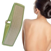 Exfoliating Loofah Back and Body Scrubber for Shower for Men and Women - Extra Long with Bamboo Fibre