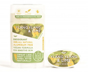 Live Beautifully Vegan Deodorant - Ylang Ylang & Lime - Aluminium Free