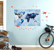 Denim Room Decorations Giant Vinyl Wall Decoration