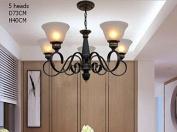 Multiple Chandelier Style Pendant Lamp Bedroom Living Room Lamps Lighting Lamp Lamp Simple Mediterranean