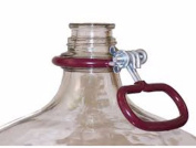 Krome 24.6l Heavy Duty Glass Carboy Handle, Red