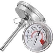 UEETEK Metal Industrial Temperature Diameter Bimetal Thermometer WSS-411 57mm Metre 300°C 600°F