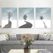 Sofa Background Wall Decoration Painting Living Room Triple Painting Creative Abstract Modern Simple Bedroom Art Painting